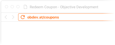 objective development coupon